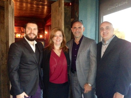From Left: Chris Lipson, HCAF Director of Government Affairs and Member Advocacy, Rep. Amanda Murphy (D-New Port Richey), HCAF Executive Director Bobby Lolley, HCAF Board President Anthony Clarizio